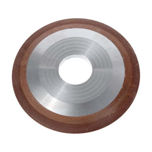 Replacement 125mm One Tapered Side Plain Resin Diamond Saw Blade Grinding Wheel