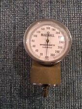 Vintage Marshall Sphygmomanometer Gauge Made In Japan Gauge Only