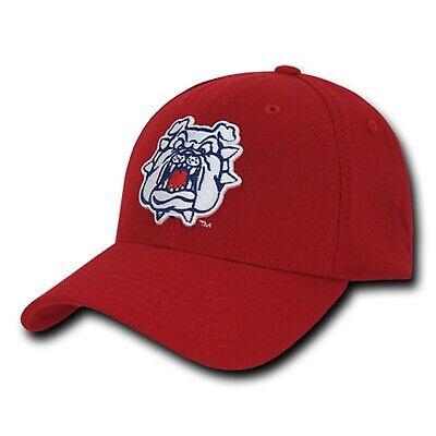 Fresno State Bulldogs Cal State St Flex Mesh Baseball Fitted Ball Cap Hat