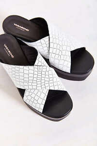 4bb3582debb Image is loading Vagabond-Lindi-Chunky-Platform-White-Croc-Textured-Leather-
