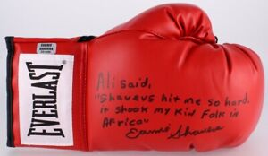 Earnie-Shavers-Autographed-Everlast-Boxing-Glove-with-Authentication