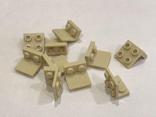 10x LEGO Crochets 1 x 2-2 x 2 inversé Tan-P//N 99207 nouveau BB2F