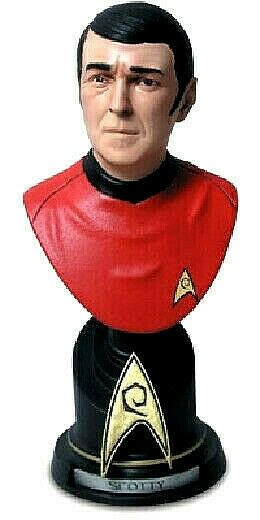 Star Trek SCOTTY busto resina 18cm Sideshow