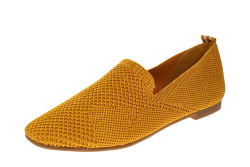 Damen Schuhe Ballerinas La Strada 1804422 4580-ocre-knitted