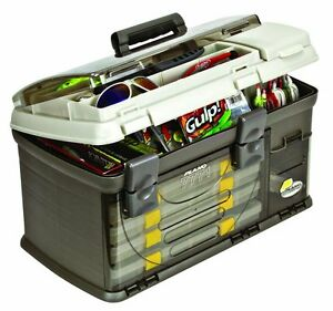 NO TAX! NEW Plano 7771 Guide Series Fishing Tackle System Box Plano 4 Utility
