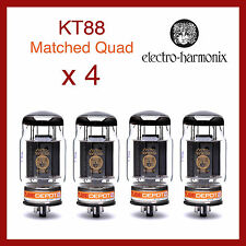 Electro-Harmonix KT88 EH Power Vacuum Tubes - Matched Quad - 4 Pieces