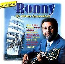 Die-Schoensten-Seemannslieder-von-Ronny-CD-Zustand-gut