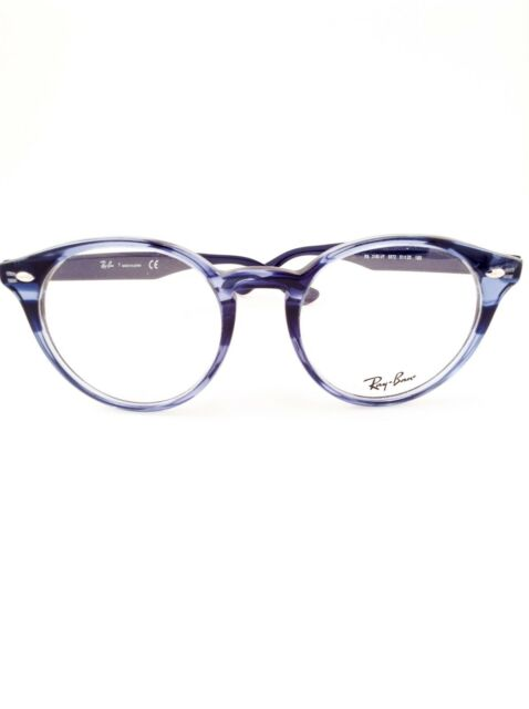 51d91569b5 Ray Ban Rb2180-vf 5572 Light Blue Transparent Authentic 51 for sale ...