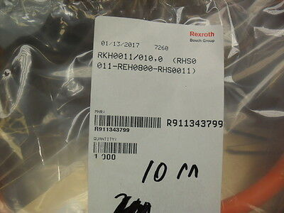 Rexroth Rkh0011/010 R911343799 Ibrido Lunghezza Del Cavo 10.00 Metri Elegant And Sturdy Package Business & Industrial