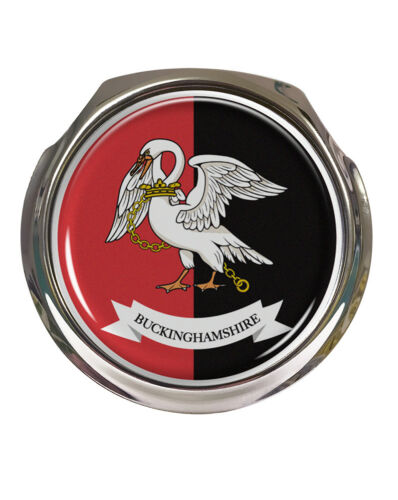 Buckinghamshire County Flag FREE FIXINGS Car Grille Badge