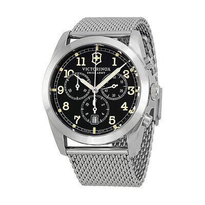 Victorinox Swiss Army Infantry Chronograph Black Dial Mens Watch 241589