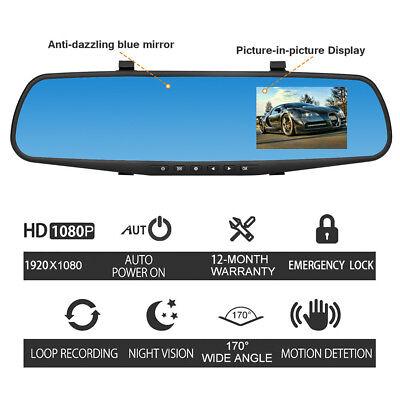 1080p Hd Auto Dash Kamera Dual Kamera Fahrzeug Vorne Hinten Dvr Objektiv Video