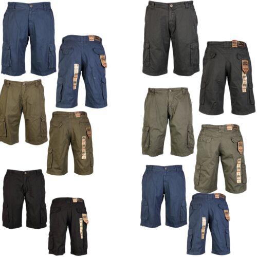 Kam Designer Mens Cargo Combat Casual Smart Summer Walking Shorts Big king Size