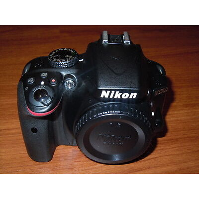 PLEASE READ FIRST - New Nikon D3300 BLACK - SLR Camera Body ONLY - Nothing Else