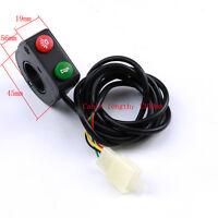 Motorcycle Bike Universal 7/8 Switch Horn Turn Signals On/off Light Zu