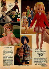 1974 ADVERTISEMENT Doll Sun Valley Holly Hobbie Barbie Yellowstone Kelly Beach