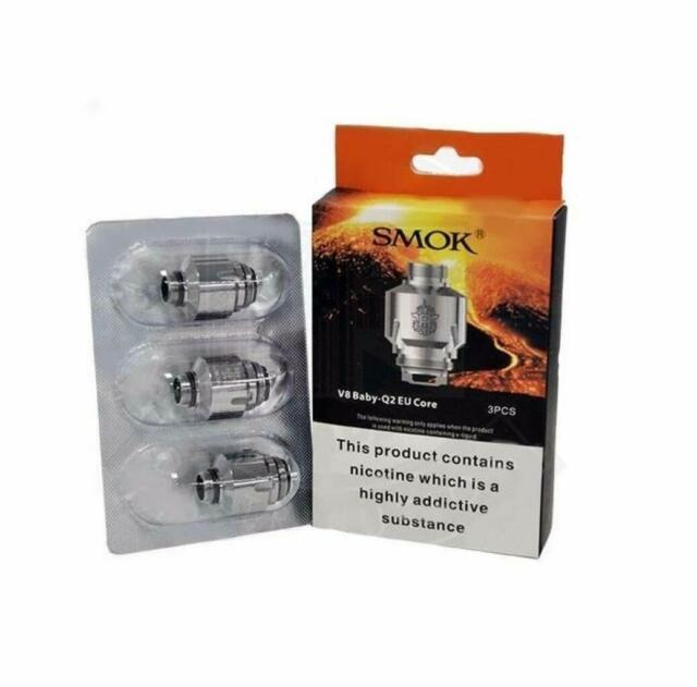 Smok V8 Baby Q2 Replacement Coil 0 4ohm 40 80w For Sale Online Ebay