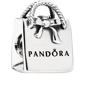 Original-Pandora-Shopping-Silber-Tasche-791184-Charm-s925-ALE
