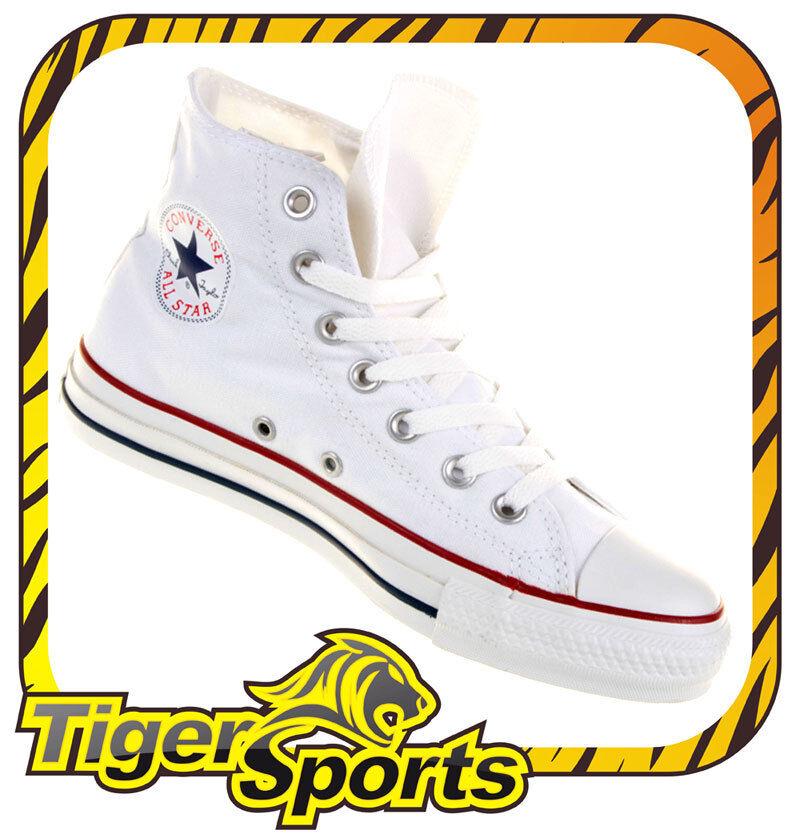 Converse - Chucks - All Star Hi Weiß White M7650 - Schuhe NEU - Größen: 35 - 48