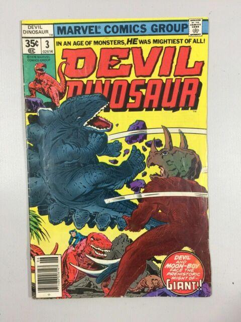 Devil Dinosaur 1978 Marvel #3 Z4