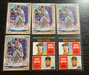 James-Marvel-RC-Lot-6-2020-Topps-Pittsburgh-Pirates