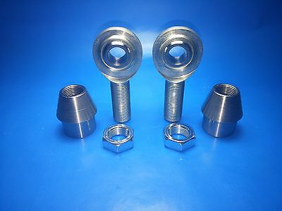 """18 Thread with a 1//2/"""" Bore Chromoly  Heim Joints Rod Ends LH 5//8/"""""""