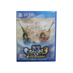 Warriors-Musou-Orochi-3-Ultimate-PlayStation-PS4-2019-Chinese-Factory-Sealed