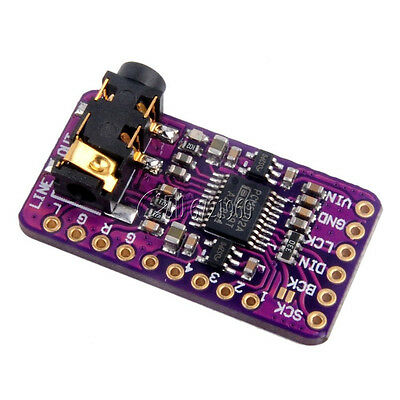 PCM5102 I2S Interface DAC Decoder GY-PCM5102 I2S Player Module For Raspberry Pi