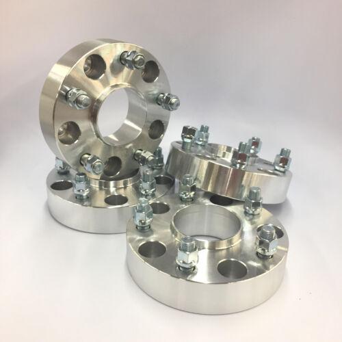"50mm 2/"" Inch ¦ 1//2/"" Thread 4pcs Hub Centric Wheel Spacers ¦ 5x5.5 5x139.7"
