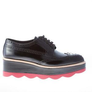 Derby shoes - Black Prada DOELS