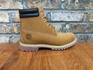Details zu Mens Timberland 6 Inch Premium Boot TB073540 Wheat NEW Size 12