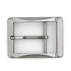 Titanium-Ti-Boucle-de-ceinture-Belt-Fastener-Brushed-Finish-Nickel-Free-40mm-B