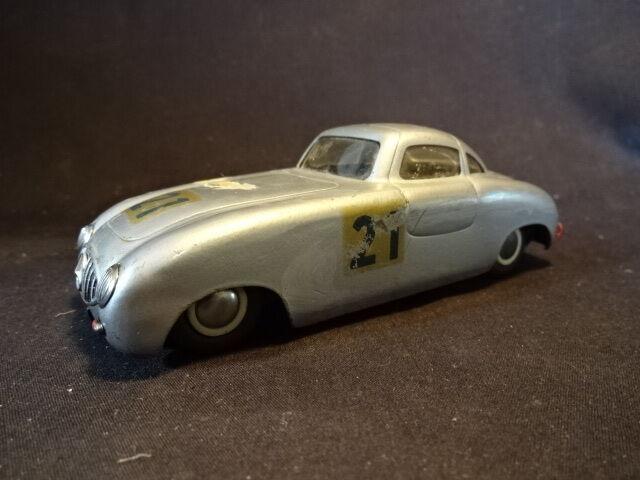 まれな古いVTG Duxは、21のメルセデススズおもちゃ車銀2ドア