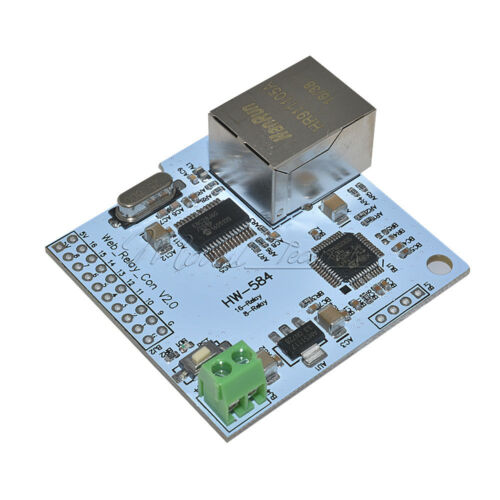 ENC28J60 Network Module 16bit Network Contrller 5.5VDC 2A for 16Bit Relay Module