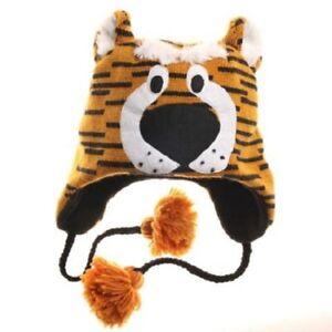 1a892754 New Missouri Tigers Mizzou Knit NCAA Winter Ski Laplander Beanie Hat ...