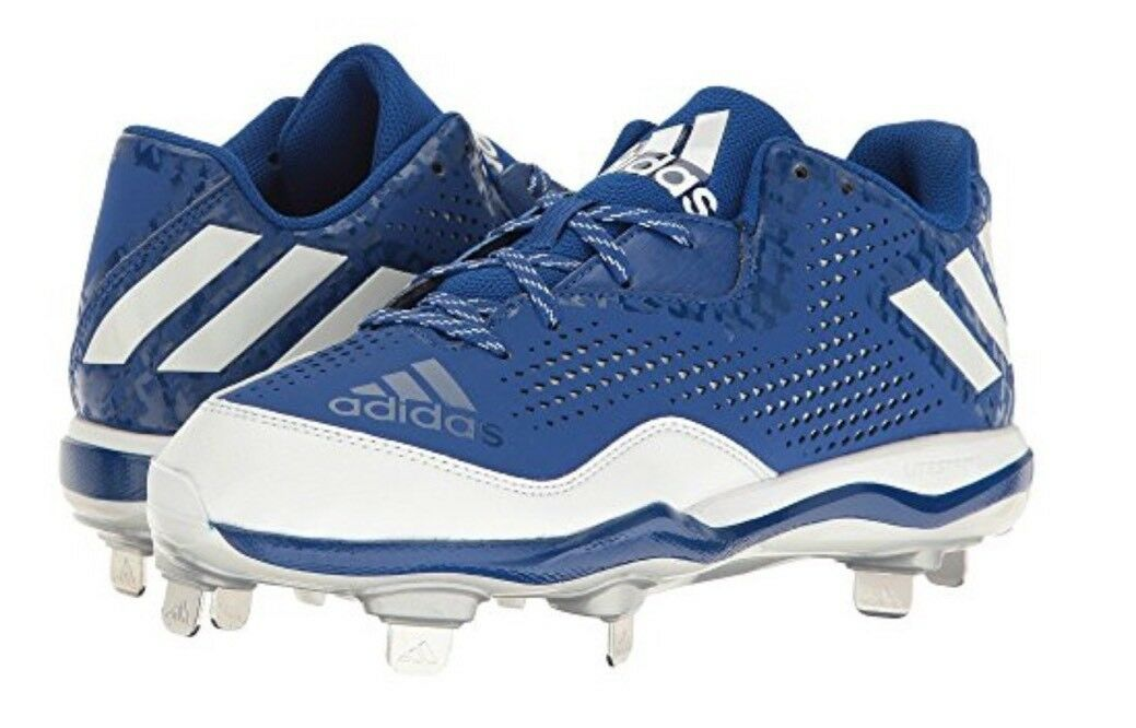 New Adidas Men's PowerAlley 4 Metal Baseball Cleat