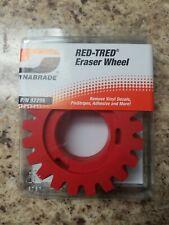 Dynabrade 92255 4 Inch Diameter x 1-1//4 Inch Wide RED-TRED Eraser Wheel