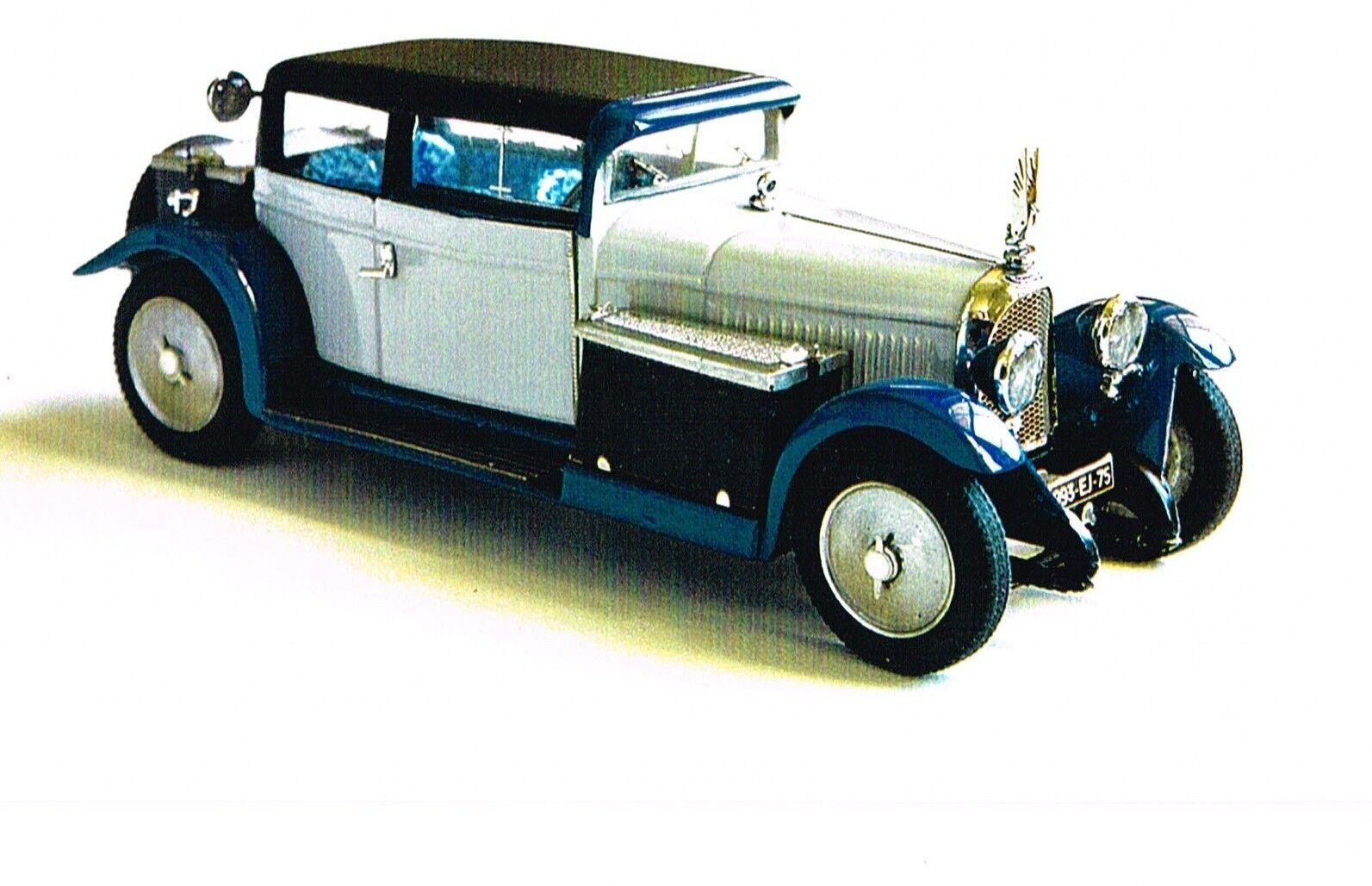 Kit pour miniature auto CCC   Voisin C14 Lumineuse 1928 référence 168