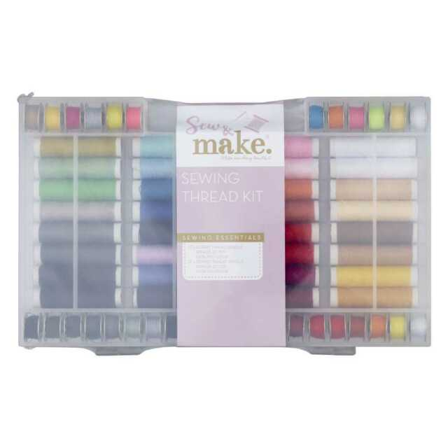 NEW Sew & MakeSew 'N' Make Sewing Thread Set By Spotlight