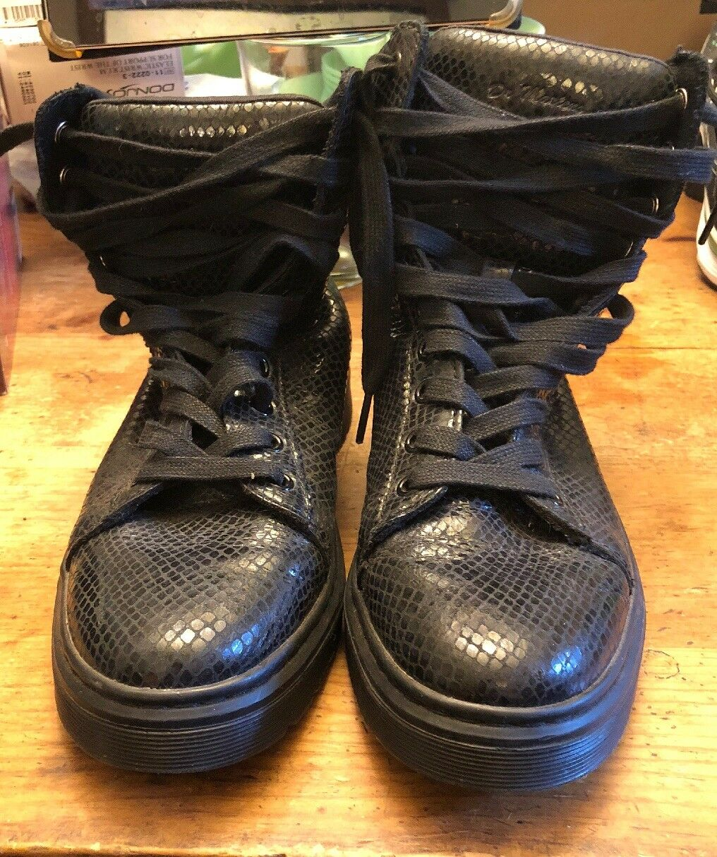 Doc Martens botas mezcla Serpiente