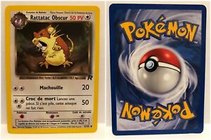CARTE-POKEMON-Rattatac-Obscur-51-82-Wizards
