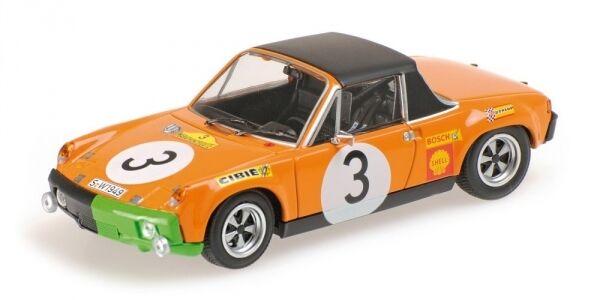 Porsche 914 6 Waldegaard Andersson Chasseuil 3rd Marathon De La Route 1970 1 43