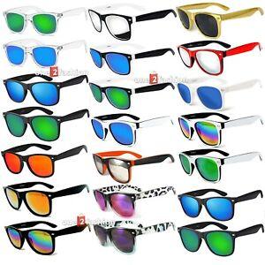 Sunglasses Vintage Retro Classic Mens Women's UV400, 80's Sunglass