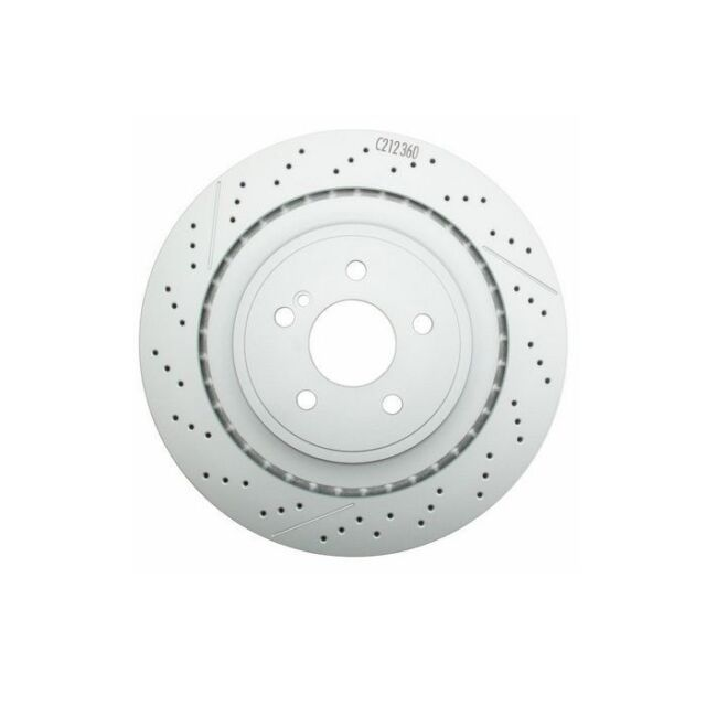 Ceramic Pads For Mercedes Benz E350 E500 RWD Front And Rear Brake Disc Rotors