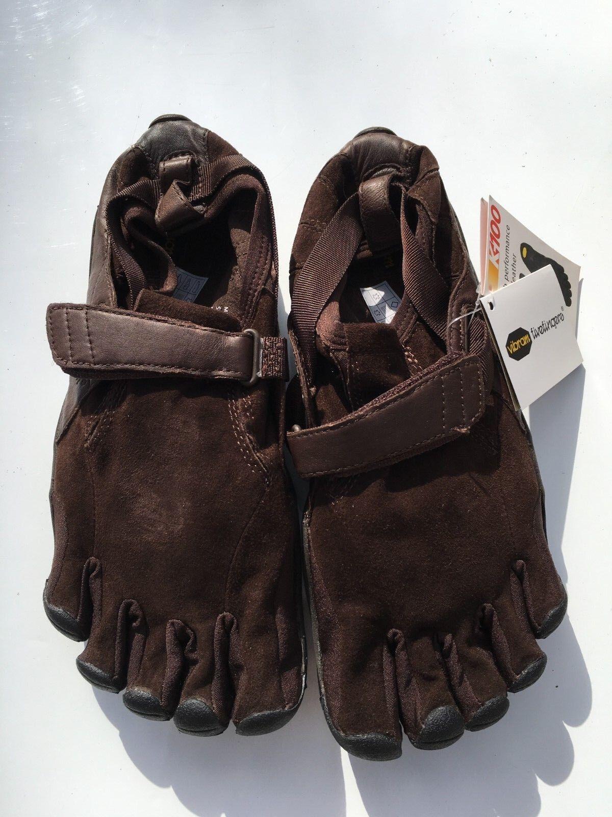 Vibram five fingers KSO trek K100 Leather Brown M241 size 42
