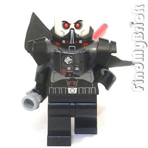 SW201-Lego-Minifigue-with-Cape-Lightsaber-amp-with-Darth-Malgus-Armor-from-9500-NEW