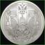 2019 1oz Dollar Bear BU Silver Shield Death of the Dollar #21