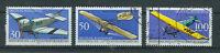 BRD Briefmarken 1991 Luftpostbeförderung Mi.Nr.1522-24