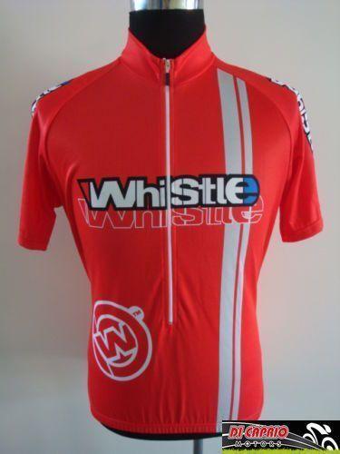 Maglia estiva Bici MTB WHISTLE by ATALA manica corta rossa bicicletta Tg.M