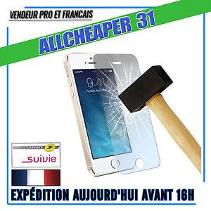 Vitre-Verre-Trempe-IPHONE-5-5s-5se-5c-Anti-Casse-Films-Protection-Authentique